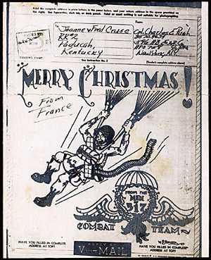 1944 Christmas V Mails
